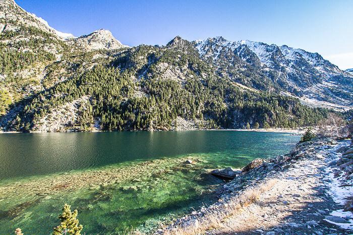 Lac de gaube dans les pyr n es - Lac de gaube ...